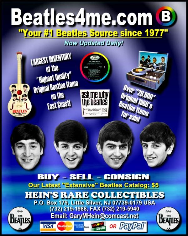 Beatles Albums INDEX